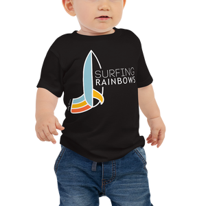 SURFING RAINBOWS Baby Tee
