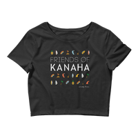 Load image into Gallery viewer, FRIENDS OF KANAHA Women's Crop Top