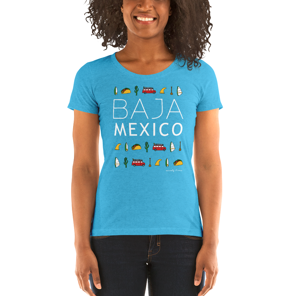 BAJA ELEMENTS Women's Fitted Tee