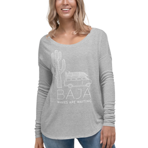 BAJA VAN Women's Flowy Long Sleeve
