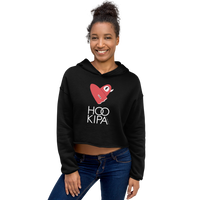 Load image into Gallery viewer, HO'OKIPA LOVE Women's Crop Hoodie