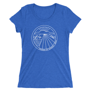 FRIENDS OF KANAHA Women's Fitted Tee