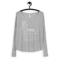 Load image into Gallery viewer, BAJA VAN Women's Flowy Long Sleeve
