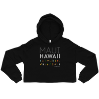Load image into Gallery viewer, MAUI ELEMENTS Women's Crop Hoodie