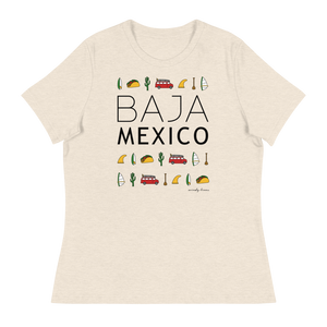 BAJA ELEMENTS Women's Relaxed Tee