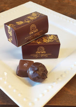 Load image into Gallery viewer, 2 piece box with Himalayan Salted caramel and Winter Cabernet truffle