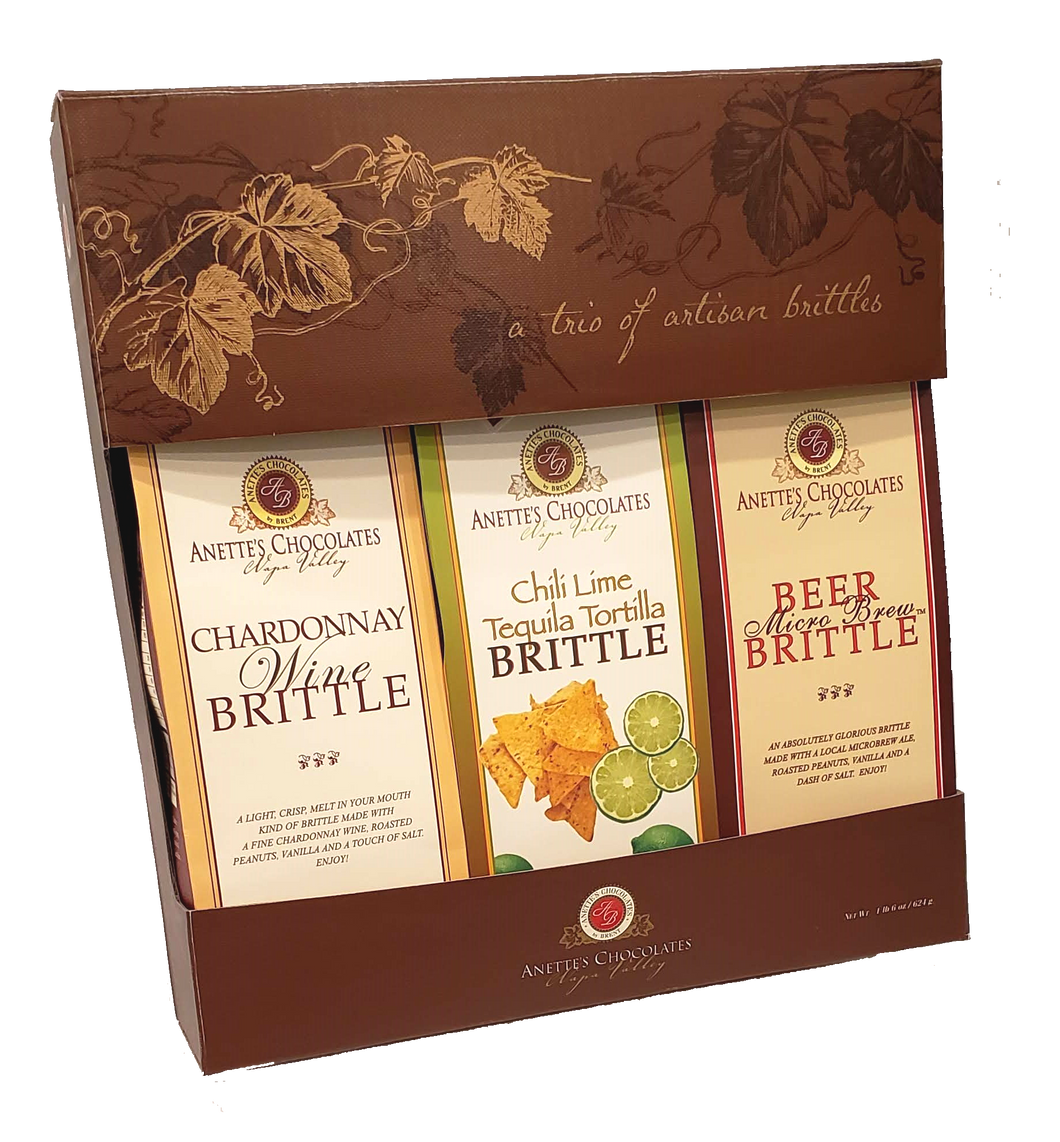 Three Brittle Gift Pack