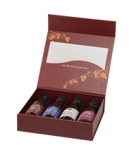 Load image into Gallery viewer, Mini 5oz Wine Chocolate sauce gift set of 4.