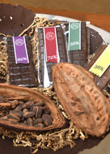 Load image into Gallery viewer, Bars:  Cacao 38% to 93%