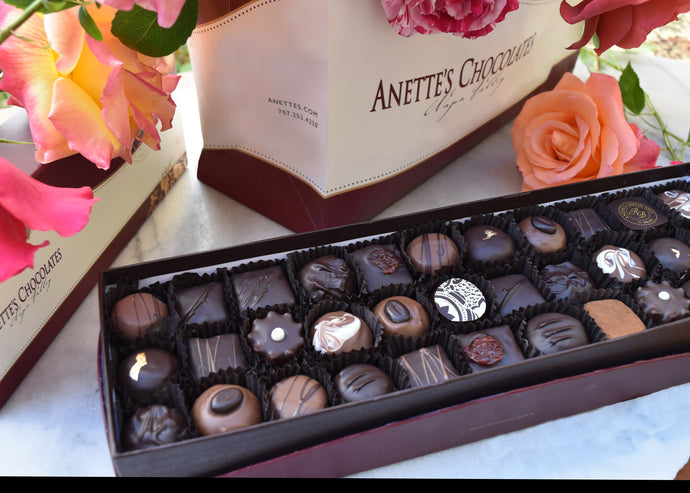 33 piece truffle box