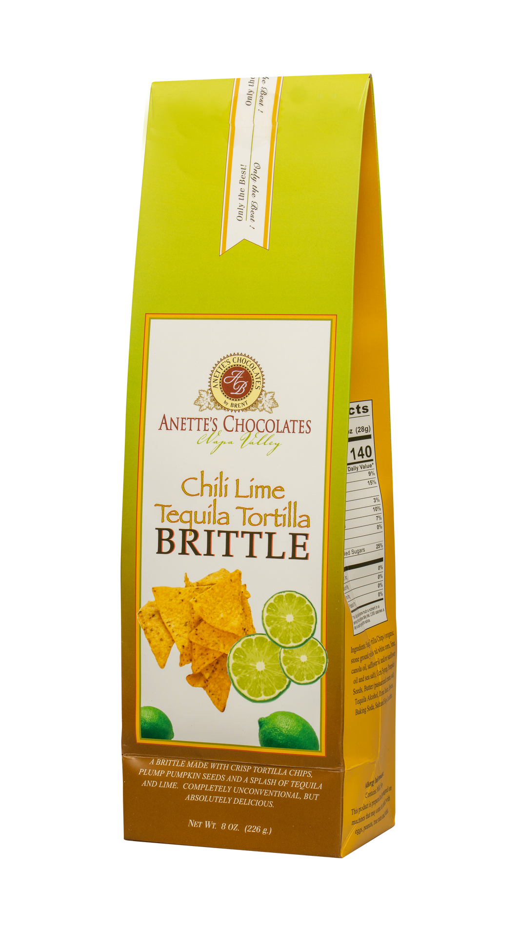 Brittle- Chili Lime Tequila Tortilla Brittle