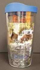 Set of 2 Tervis Wrap Tumblers w/ Lid