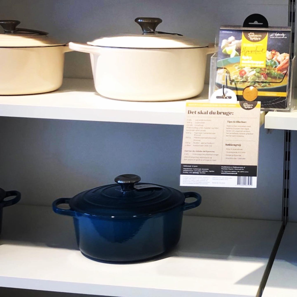 Le Creuset Spicy nudelsuppe