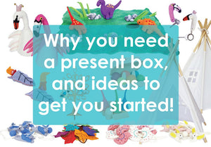 Present Box: Why you need one and ideas to get you started-Rainbows and Clover
