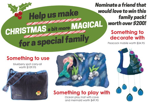 Nominate a friend to win a $200 prize pack for Christmas