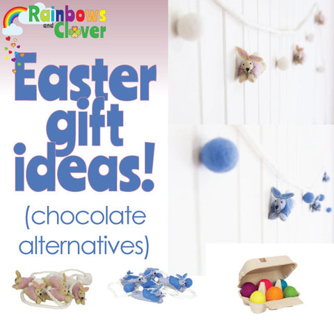 Easter gift ideas, chocolate alternatives