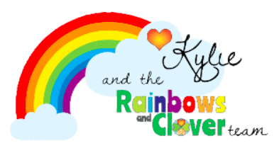Kylie and the Rainbows and Clover team