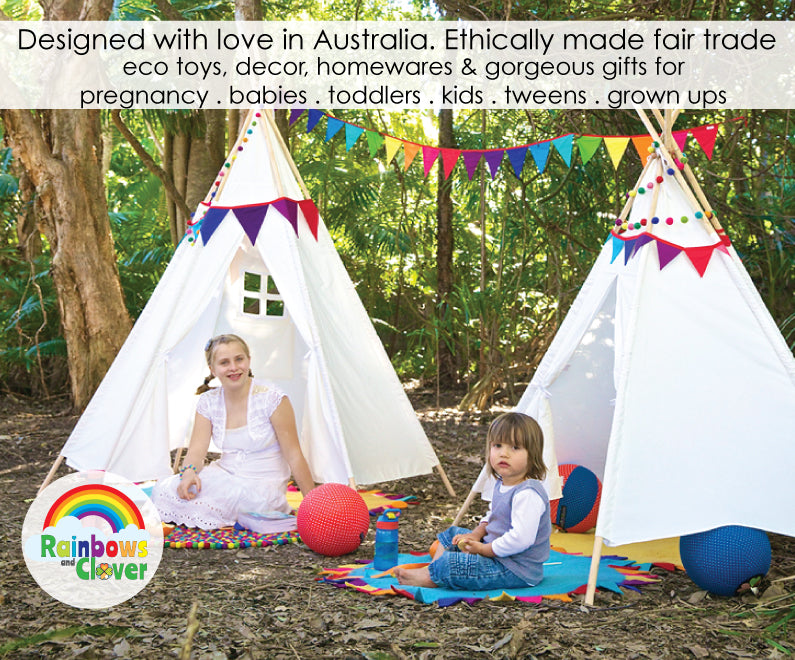 Rainbows and Clover Fair Trade manufacturing October FairTrade Month