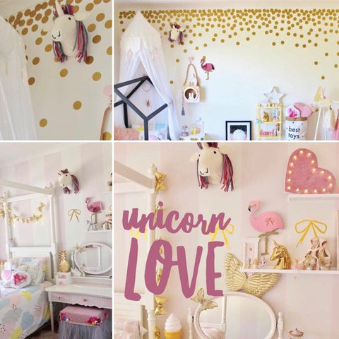 5 reasons you should create a magical unicorn room rainbows and clover for Unicorn bedroom theme