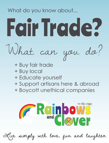 why should we buy and support fairtrade?