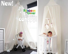 Load image into Gallery viewer, Canopy single bed - 100% cotton-canopy-Rainbows and Clover-Rainbows and Clover