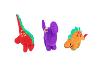 Load image into Gallery viewer, Dinosaur Set of three - Large or small-dinosaur-Rainbows and Clover-set of three large-Rainbows and Clover