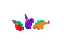Load image into Gallery viewer, Dinosaur Set of three - Large or small-dinosaur-Rainbows and Clover-set of three small-Rainbows and Clover