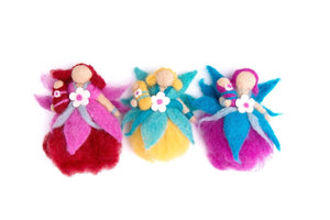 Fairy sets of three-fairies-Rainbows and Clover-Flying fairy set-Rainbows and Clover