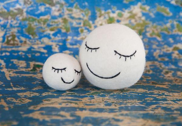 Felt sleepy time ball set of 2-Sleepy time ball-Rainbows and Clover-Rainbows and Clover