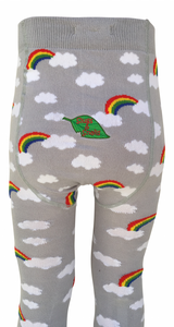 Slugs & Snails Organic Cotton Tights - Storm-tights-Slugs & Snails-12-18 months (74-80cm)-Rainbows and Clover