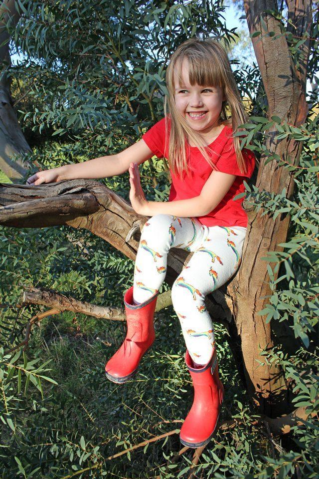 Slugs & Snails Organic Cotton Tights - Unicorn-tights-Slugs & Snails-2-3 yrs (86-92cm)-Rainbows and Clover