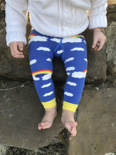 Load image into Gallery viewer, Slugs & Snails Organic Footless Tights - Rainbows-tights-Slugs & Snails-12-18 months (74-80cm)-Rainbows and Clover