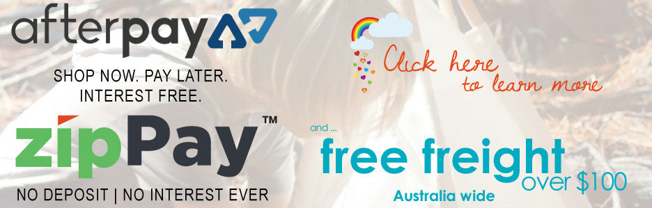 Zippay Afterpay and free freight over $100 throughout Australia