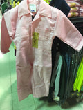 BigAl Youth Pink Poly Cotton Coverall