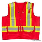 Ganka Surveyors Vest Red
