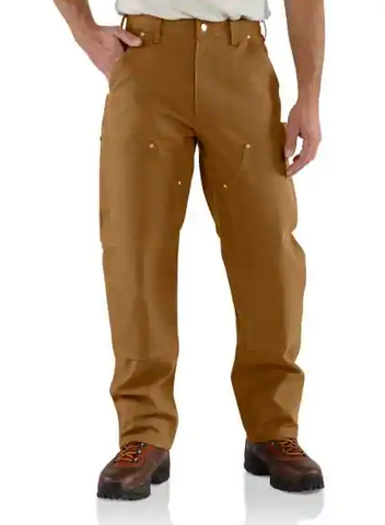 Carhartt Mens Double-Front Work Dungaree