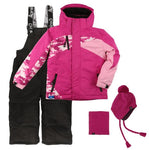 Conifere Toddler Girls 2pc Snowsuit