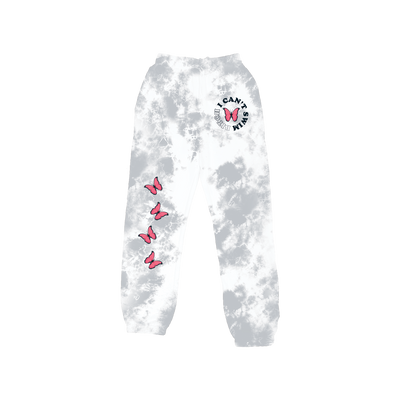 Cant Swim Sweatpants - Grey Crystal