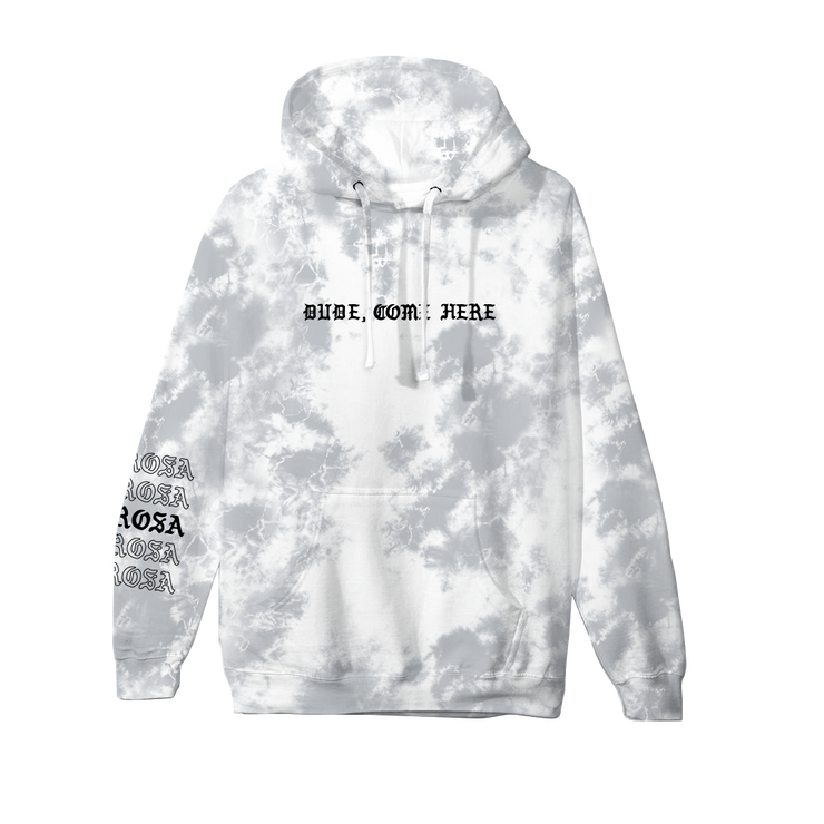 Dude, Come Here Hoodie - Grey Crystal