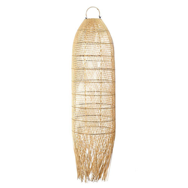 "Rotan hanglamp ""The Squid"""