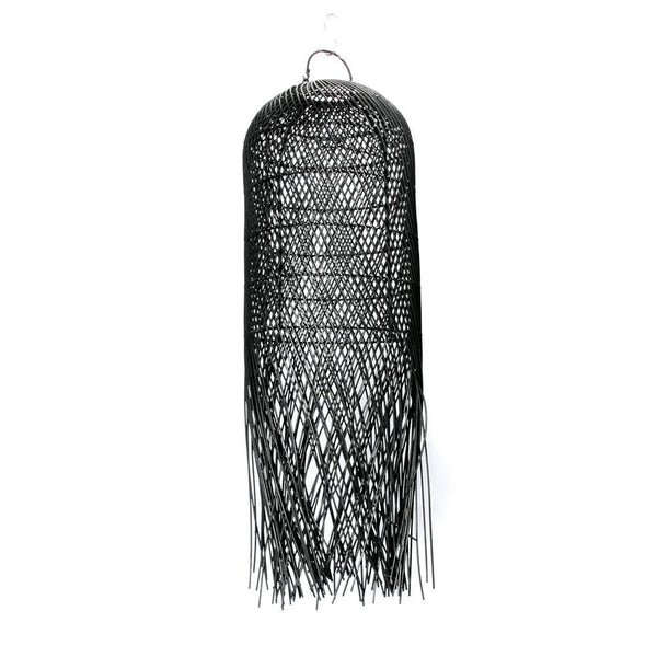 "Rotan hanglamp ""The Squid"" zwart"