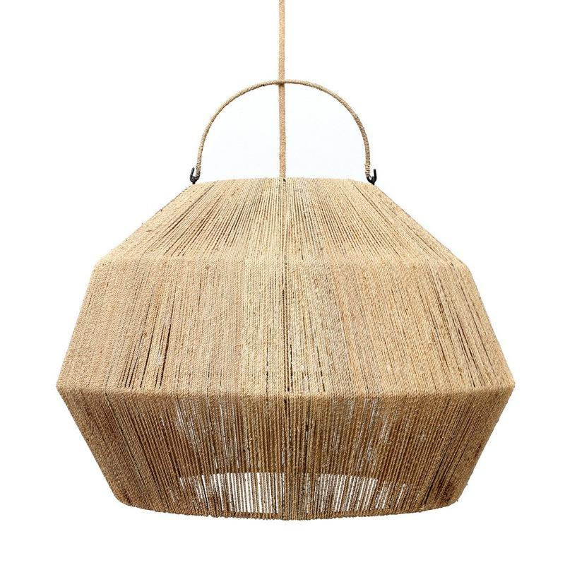 The Lashing Hanger M-Lamp-Bazar Bizar-Naturel-Ik Hout ervan.