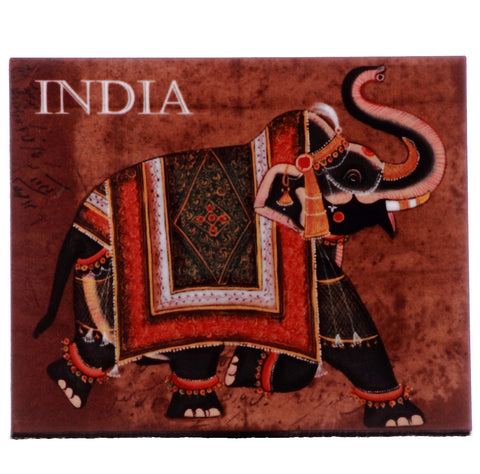 Elephant - India Magnet