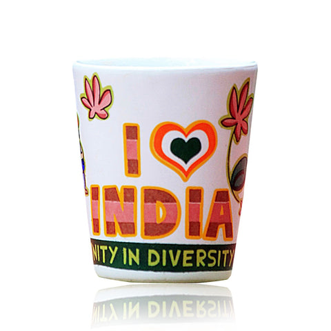 India Ceramic Shot Glass