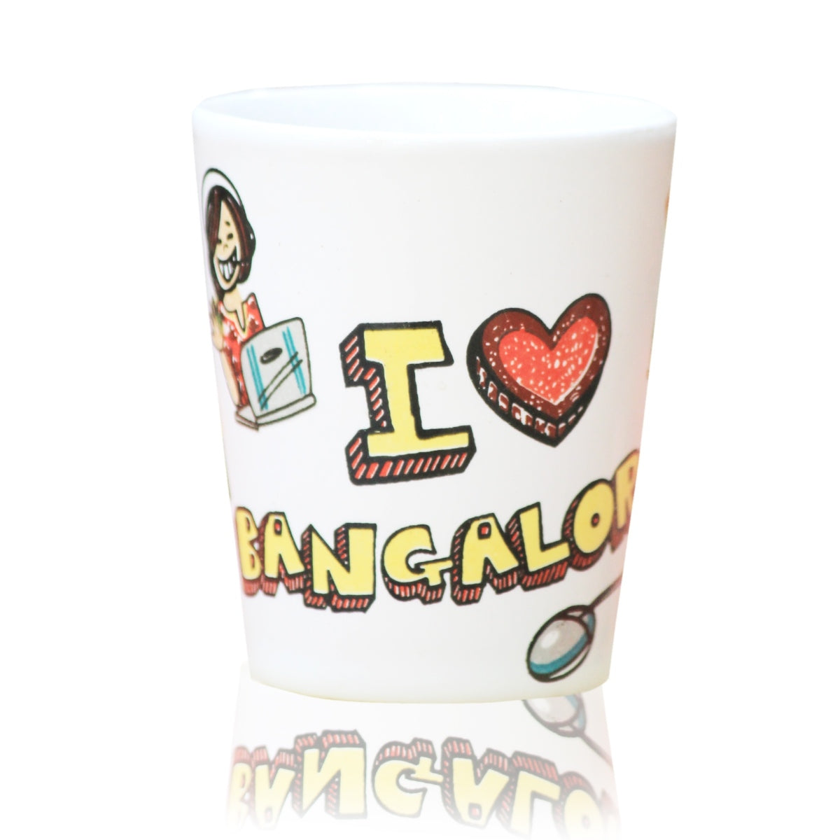 Bangalore Ceramic Shot Glass
