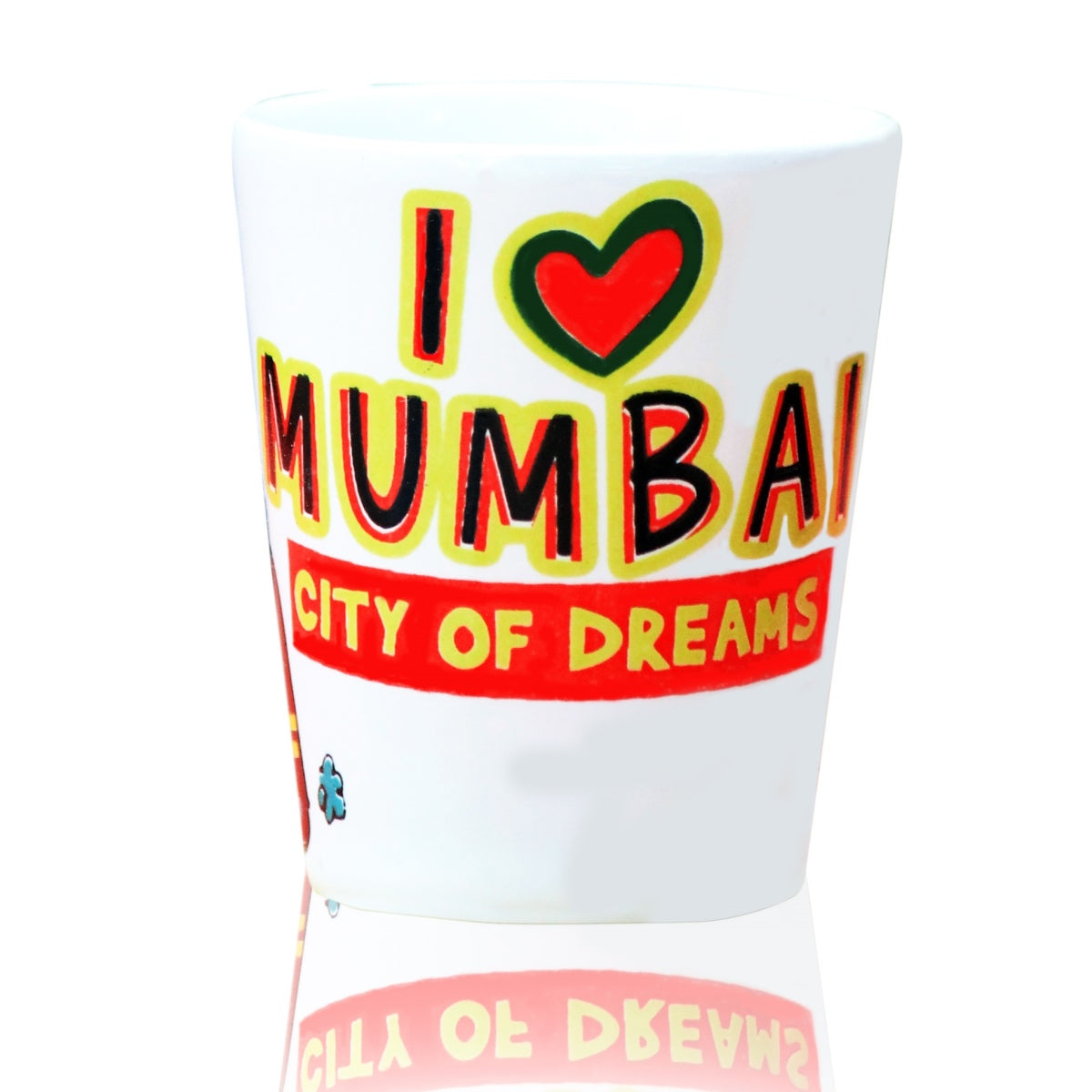 Mumbai Ceramic Shot Glass