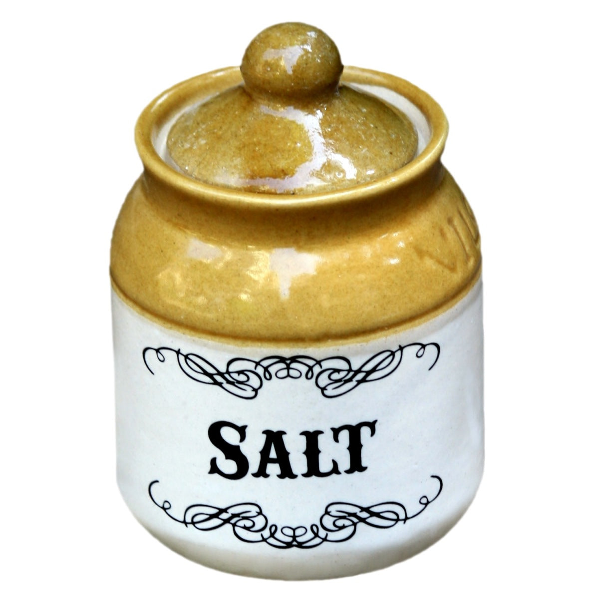 Salt Ceramic Jar