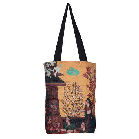 Indian Art Balcony RPET Bag