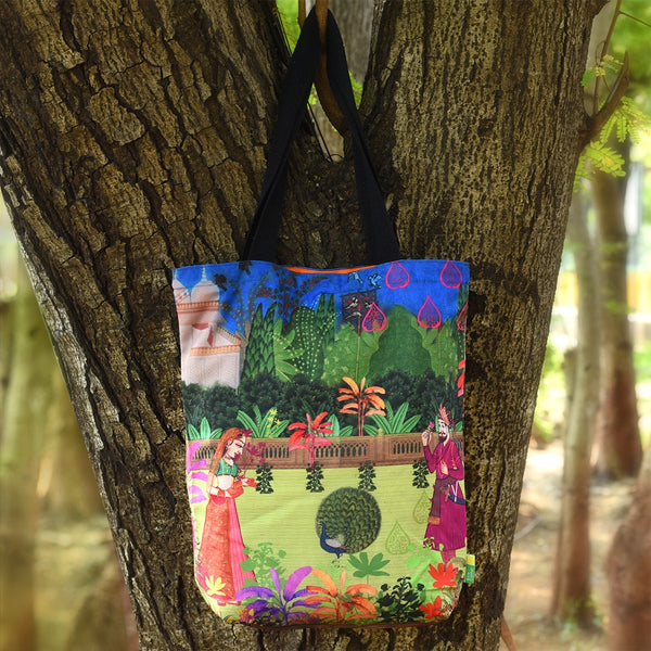 Indian Art Garden RPET Bag