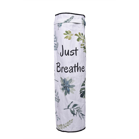 Green Leaves Yoga Mat Bag